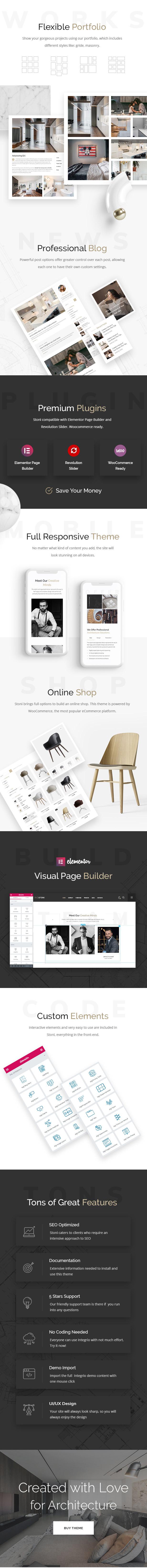 Stoni - Architecture & Interior Design Agency WordPress Theme - 3
